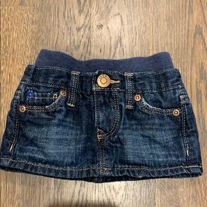 Gap Jean Skirt 0-3 mths